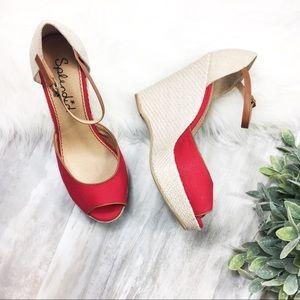 Splendid Wedge Espadrille Sandals